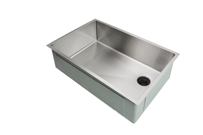 28 Sink Single Bowl Offset Drain Right 8 Depth 5s28r 8 In 2021 Undermount Kitchen Sinks Sink Kitchen Sink White