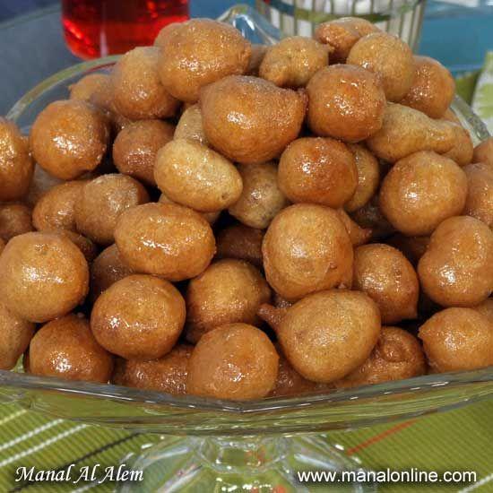 اللقيمات بالقرفة Manalalalem Recipes Ramadan Recipes Recipes Delicious Desserts