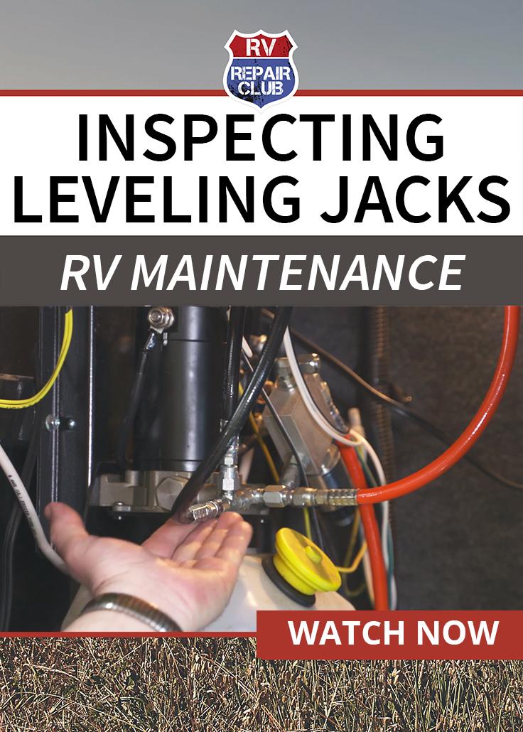 RV Leveling Jacks Inspection and Maintenance | RV Tips | Rv