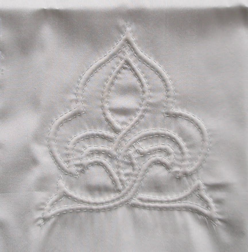 Trapunto quilting decorative arts pinterest cord