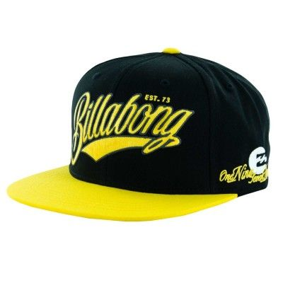 Boné Billabong Men s Cutter Hat Black  Billabong Boné  b2e6b0b36e7