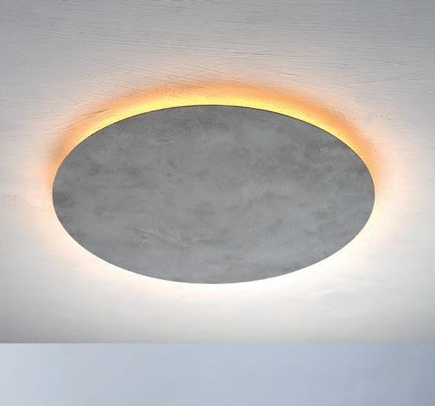 Deckenleuchte BLADE Betonoptik Beleuchtung wohnzimmer
