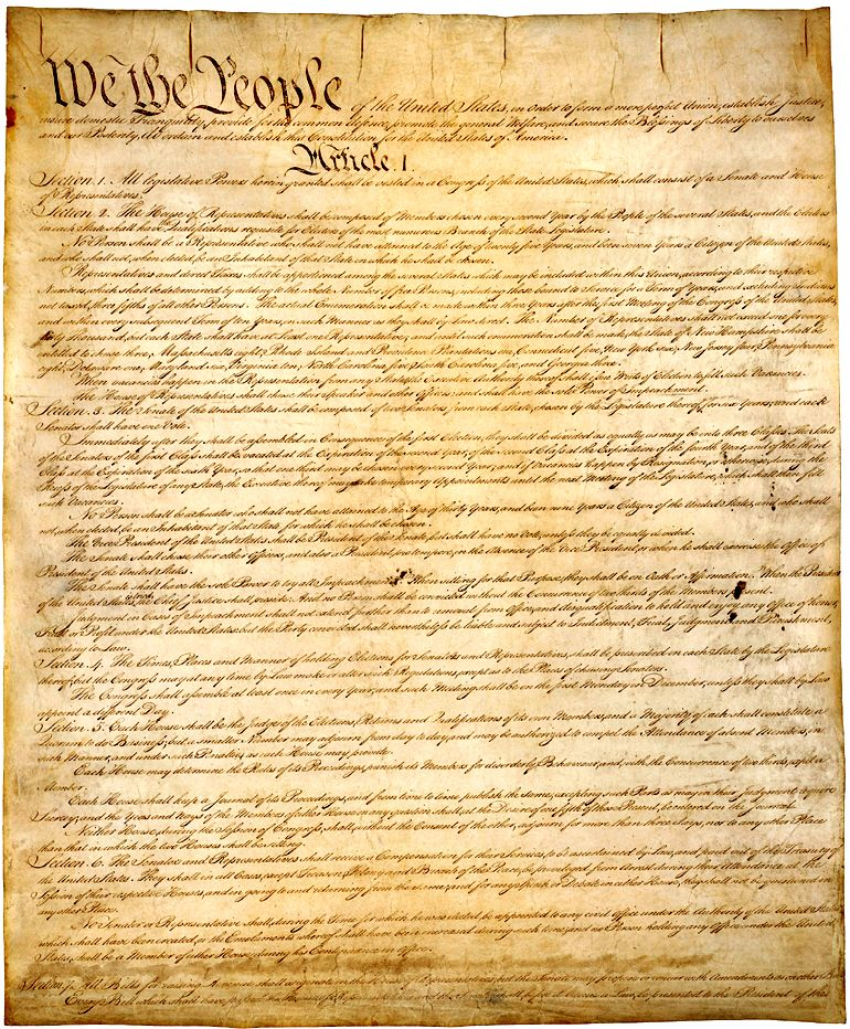 United States Constitution Preamble Clip Art