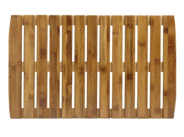 Tapis Salle De Bains Caillebotis Bambou Leroy Merlin | Deco
