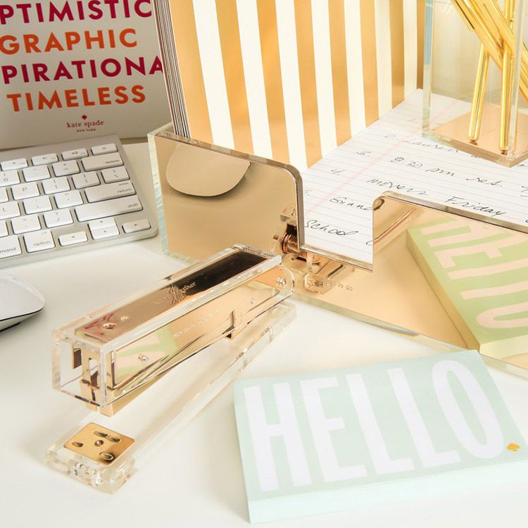 Perfect Kate Spade New York Gold Desk Accessories