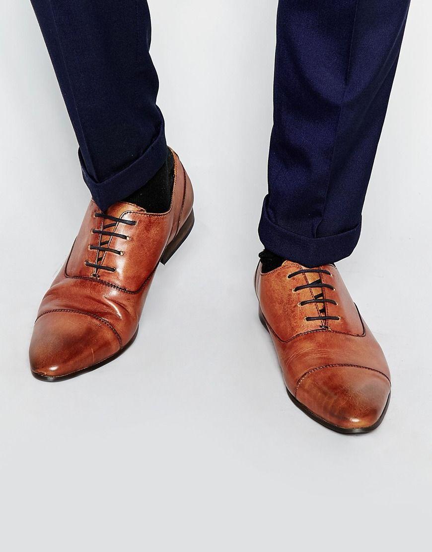 Walk London - City - Chaussures Oxford en cuir m7ARxXa
