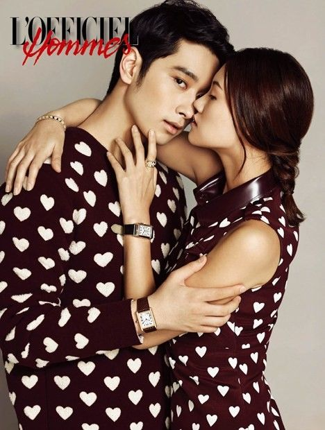 Chansung Shares Kisses With 9 Different Women For L Officiel