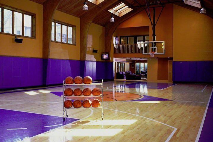 Dream Homes Indoor Basketball Court Home Basketball Court