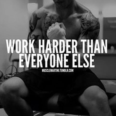 """Hard work beats talent, when talent doesn't work hard."""