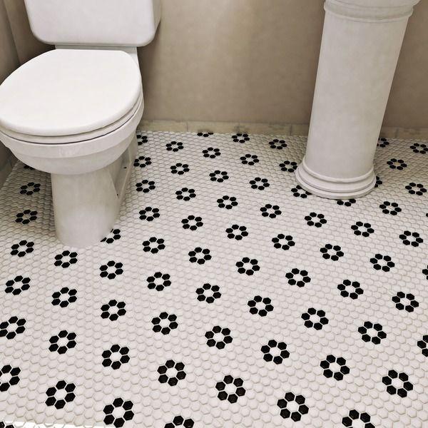 Excellent 12 X 12 Floor Tile Small 12 X 24 Floor Tile Regular 12X12 Ceiling Tiles Lowes 12X24 Ceramic Tile Old 18 X 18 Floor Tile Red2 X 6 Glass Subway Tile SomerTile Victorian Hex 1 Inch Flower Porcelain Mosaic Tile (Pack ..