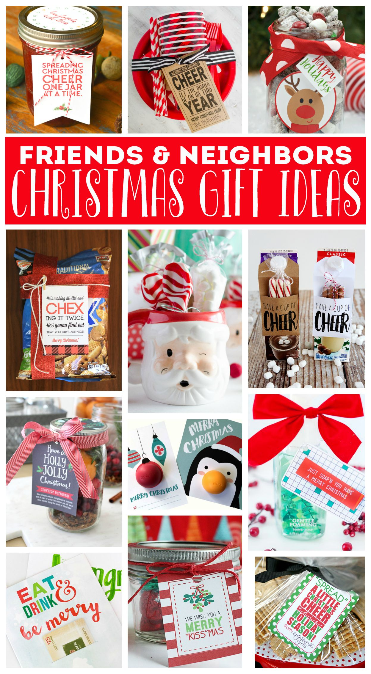 Neighbor Christmas Gift Ideas | + Best Pins Ever! | Pinterest ...