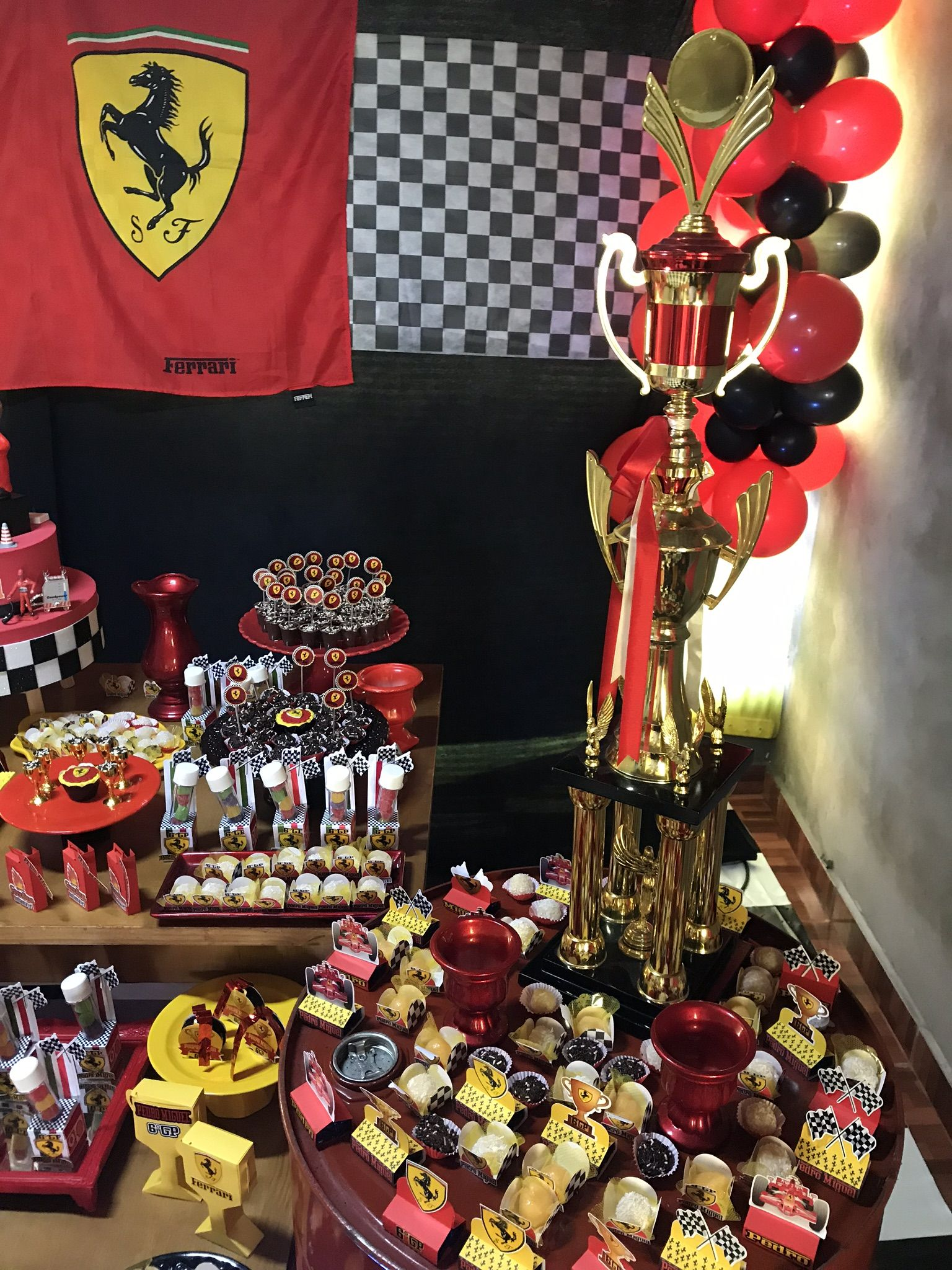 Festa Tema Ferrari Make It Yourself Ferrari