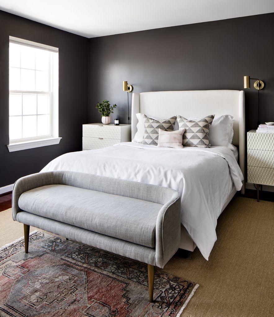 Master bedroom nightstand decor  Canton Master Bedroom  Elizabeth Lawson Elizabeth Lawson  Home