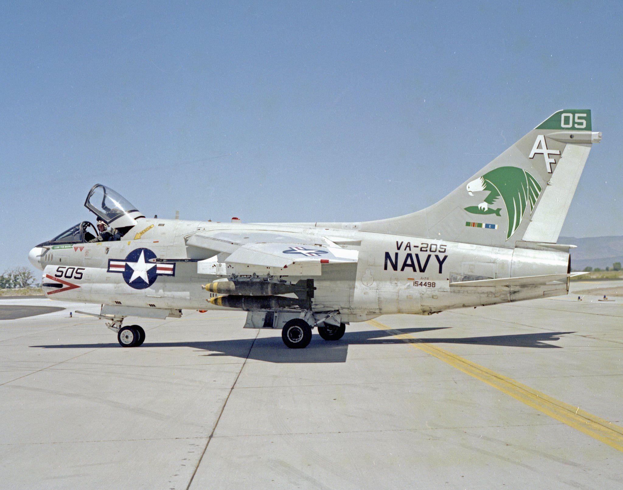 A7B VA205 Green Falcons, NAS Fallon (With images) Usaf