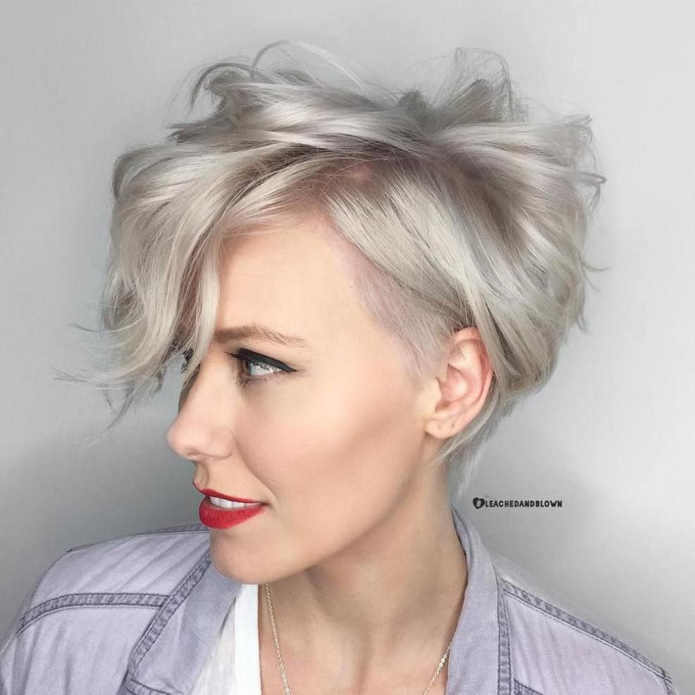short wavy haircuts 60 gorgeous pixie hairstyles this cut 2017 9872 | 0e1bd267fe62592c684ed9872abbb041