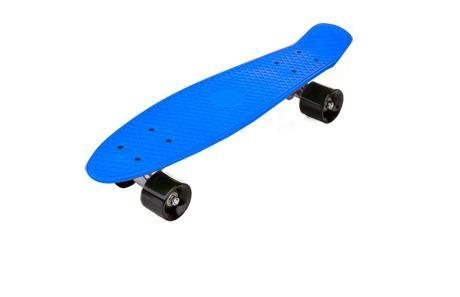 Fish Skateboard 22 Inch – Blue Board & Black Wheels