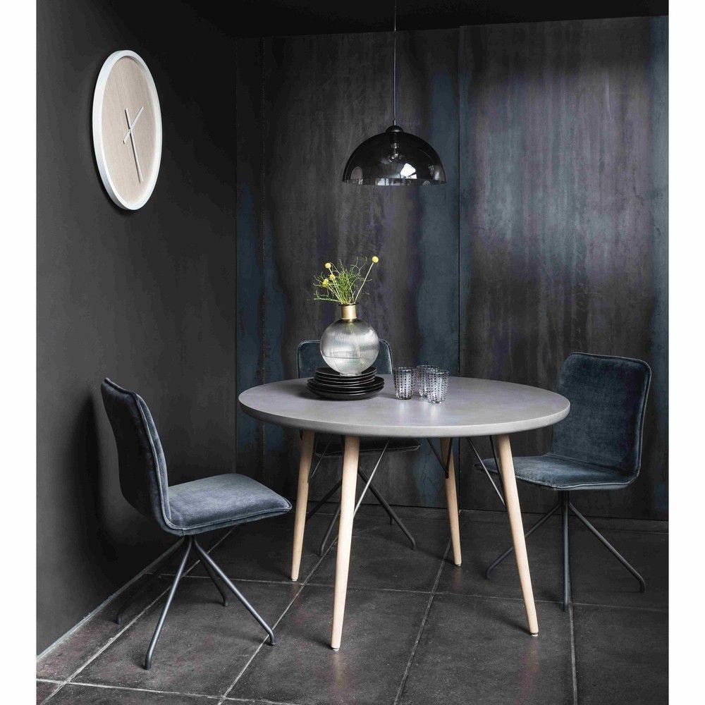Runder Esstisch für 4 Personen aus Holz, D120 Round