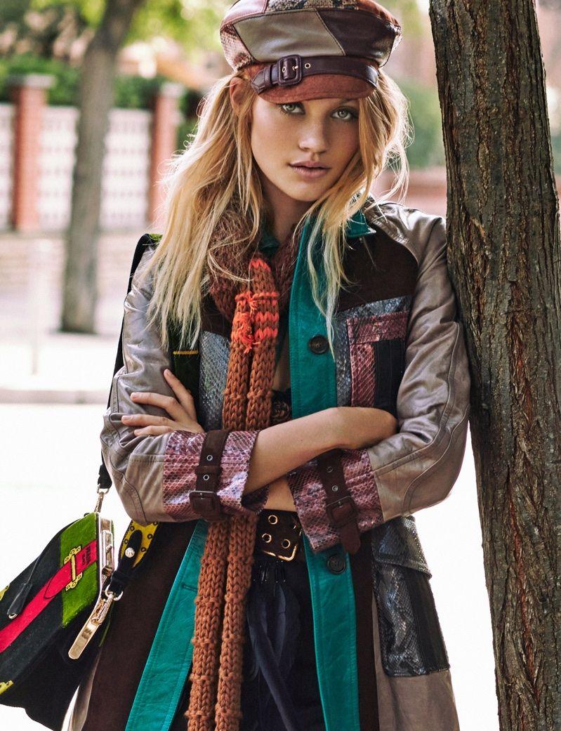 Caroline corinth embraces us fashion for elle spain spain