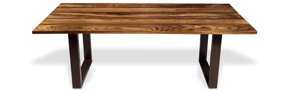 Incredibly High Figured Zebra Wood Top With Walnut Accent Dividers Dining Conference Table Or Desk 42 X 96