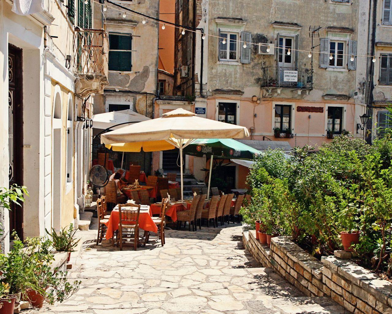 Grèce photographie cafe print rustique par vitanostra sur