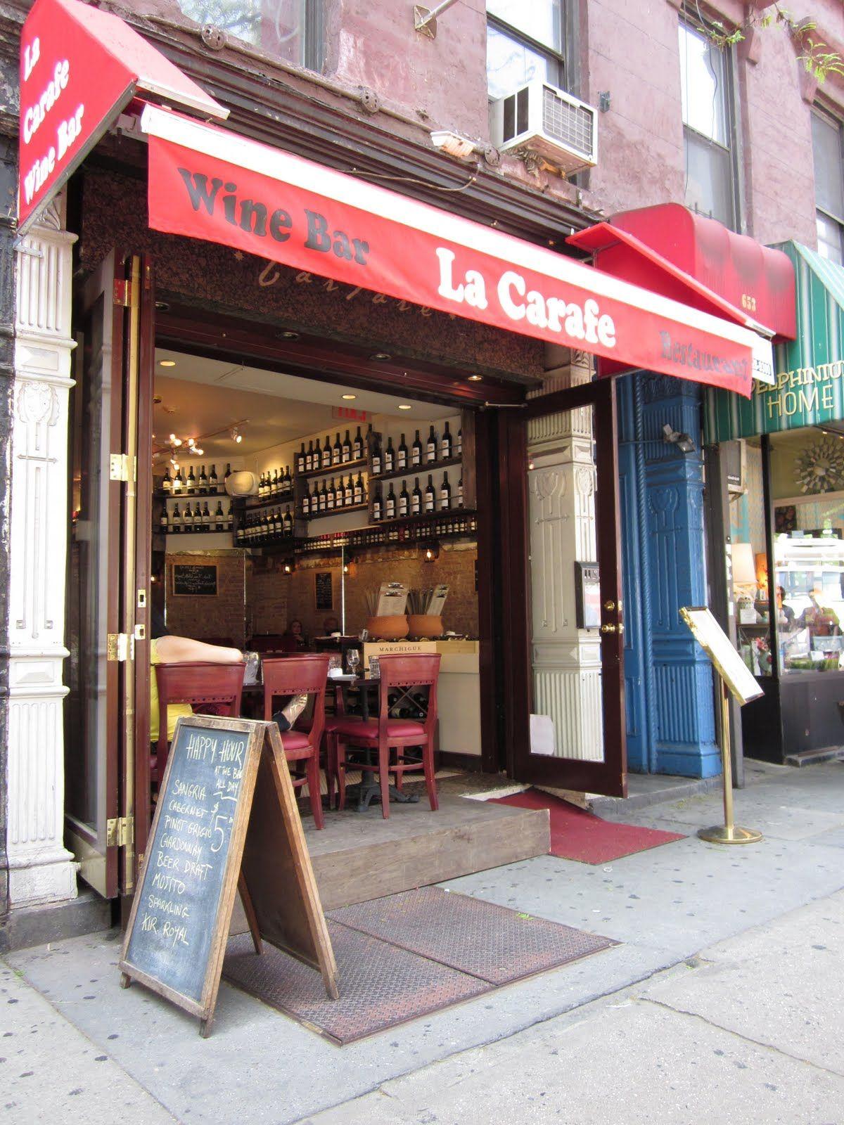 La Carafe Hell S Kitchen Nyc Restaurants Bars Nyc