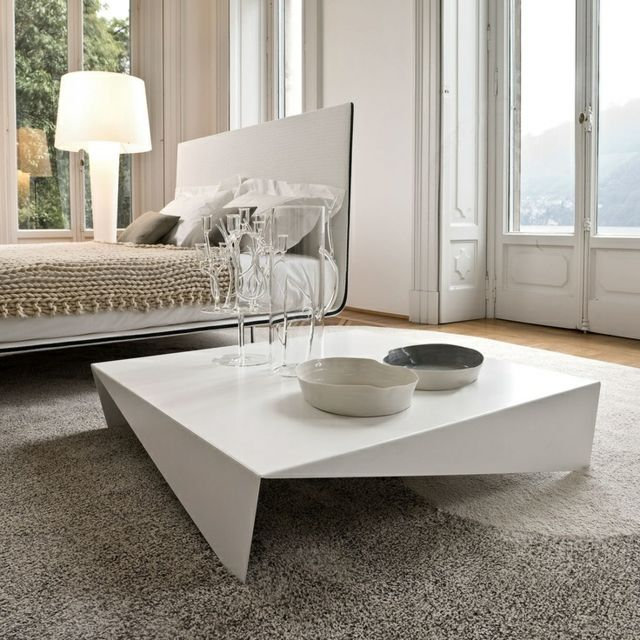 20 uniquely beautiful coffee tables simple designs tables and leaves - Table Salon Moderne Design