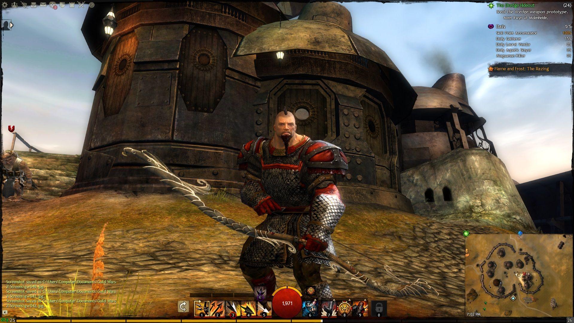 Name: Wrecking Ball Bob Race: Norn Class: Warrior | My Guild