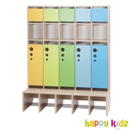 immer ordnung im flur happy kidz hat z b die schicke kindergarderobe seifenblase mit t r und. Black Bedroom Furniture Sets. Home Design Ideas