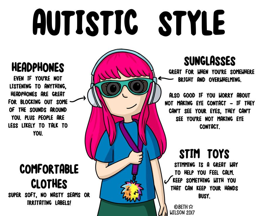 Autistic Style – Doodle Beth's Blog of Stuff | Autistic, Aspergers ...