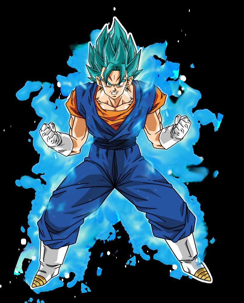 Vegetto Super Saiyan Blue By Bardocksonic On Deviantart Super Saiyan Super Saiyan Blue Goku Super Saiyan