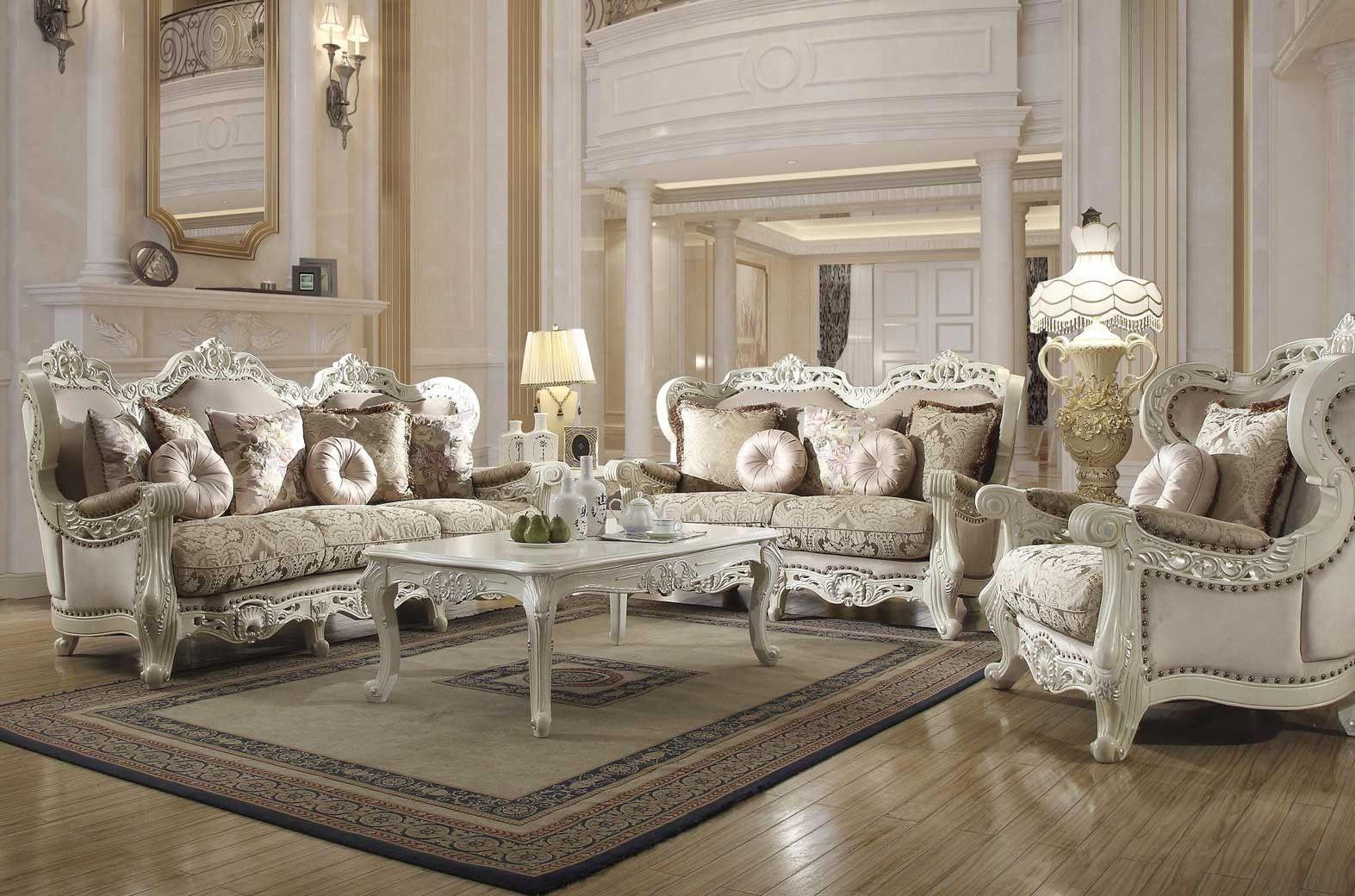 2657 Homey Design Upholstery Living Room Set Victo