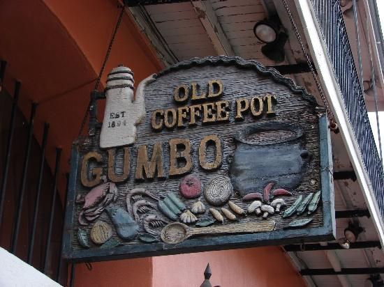 The Old Coffee Pot Restaurant 714 Saint Peter St New Orleans La Best Of New Orleans New Orleans Old Things