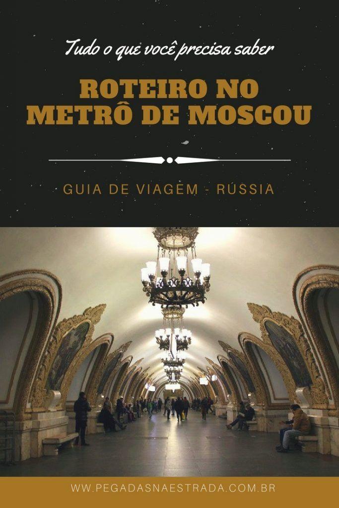 Você também acha que o Metrô de Moscou é um