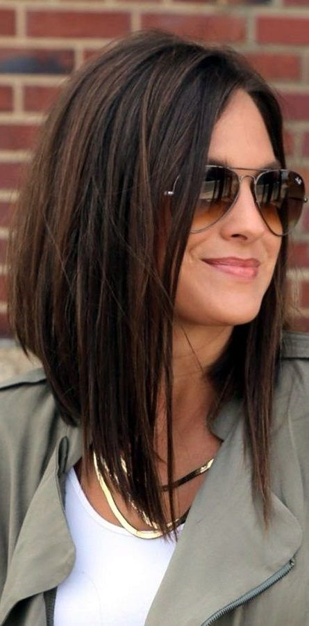 27 Long Bob Haircuts For Thick Hair To Get Inspired 2019 Long Bob Haircuts Long Haired Haircut Popular Long Bob Hairstyles Angled Bob Haircuts Bob Hairstyles