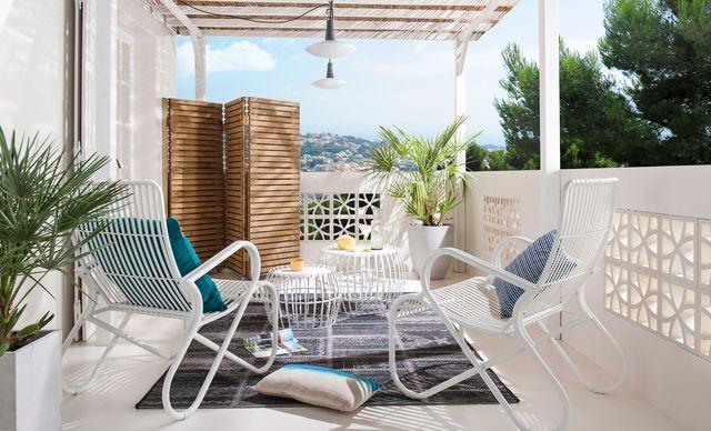Salon de jardin pas cher  du mobilier du0027extérieur en résine, bois