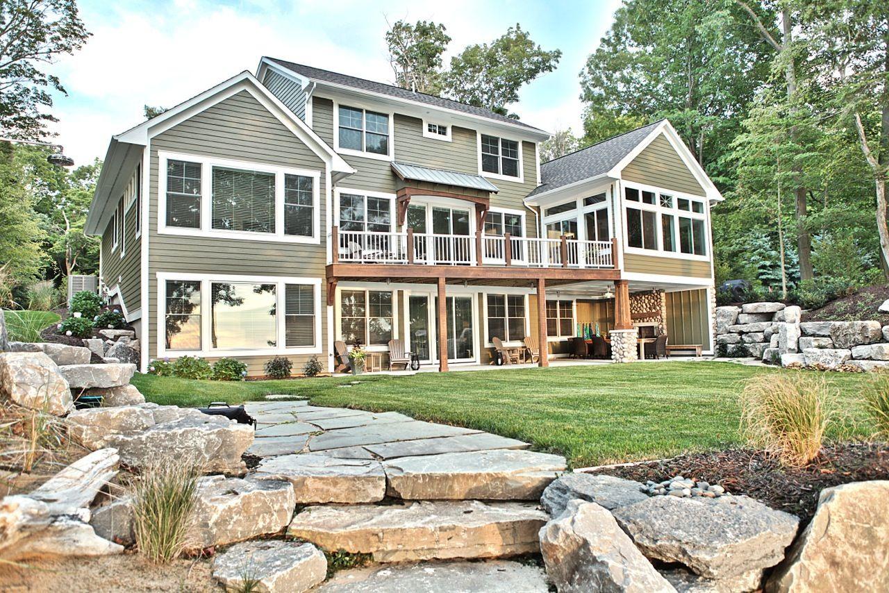 Cottage Home Custom Homebuilder West Michigan