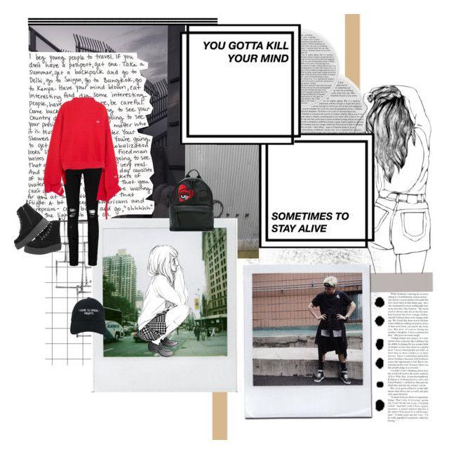 """i came to break hearts"" by smolberry ❤ liked on Polyvore featuring Arteriors, Seed Design, Polaroid, Nasaseasons, T.U.K., Boohoo, Vetements and Chiara Ferragni"