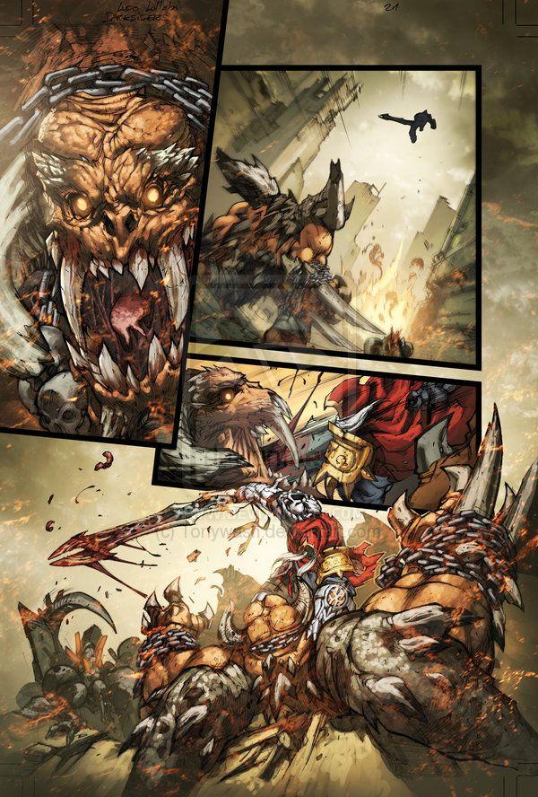 Darksiders pagine a fumetti | Joe Mad! Fan Boards