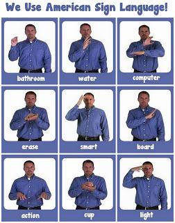 Bagels and Blogs, November 4 | Sign language, Sign ...