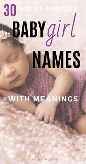 #Baby #baby names boy uncommon #BabyMädchennamen # ...
