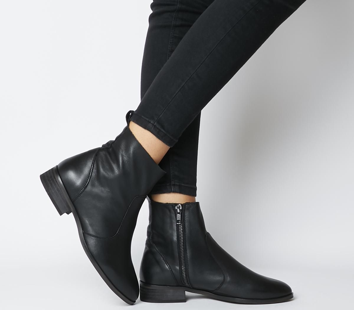 Office Ashleigh Wide Fit Flat Ankle