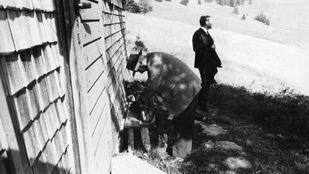 """Heideggers """"Spiegel""""-Interview: Hundert Minuten Hüttenzauber"""