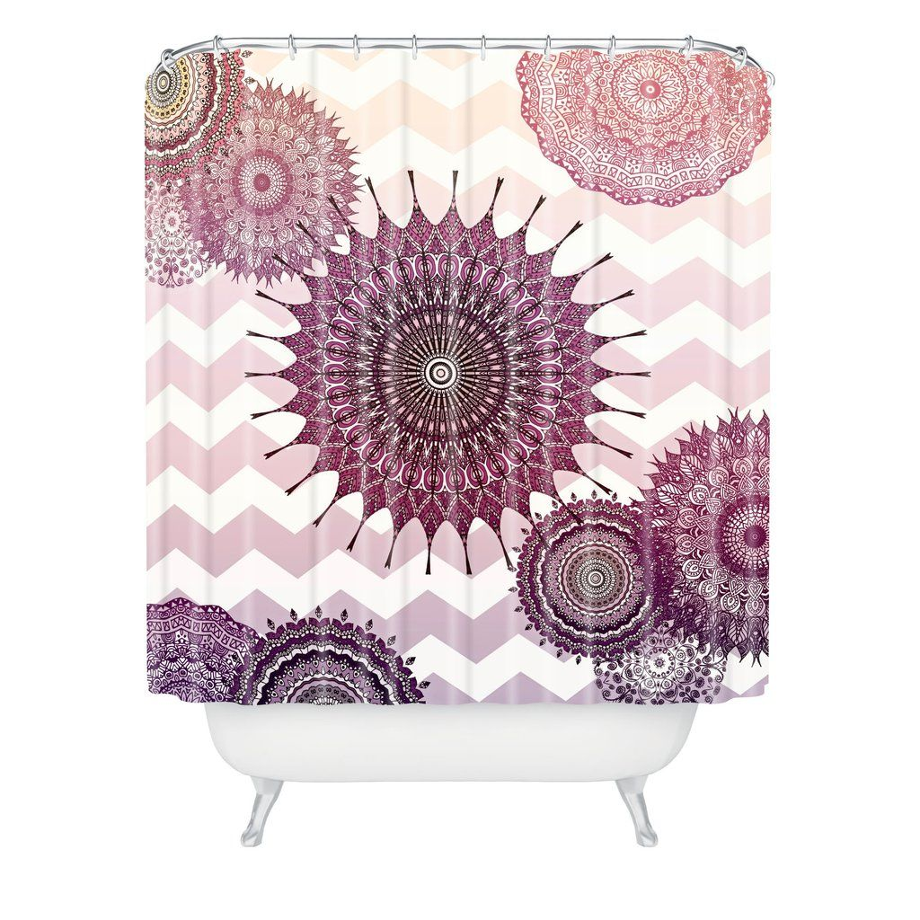 Monika Strigel Sweet Boho Dreams Shower Curtain Deny Designs