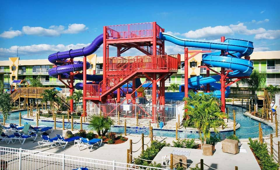 Groupon Stay For Up To Four With Two Water Park Vouchers At Flamingo Waterpark