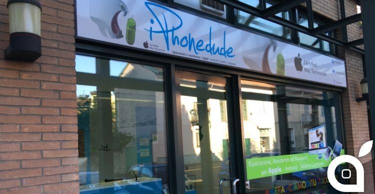 iPhoneDude il servizio di riparazione iPhone e vendita di ricambi apre un nuovo negozio a Milano