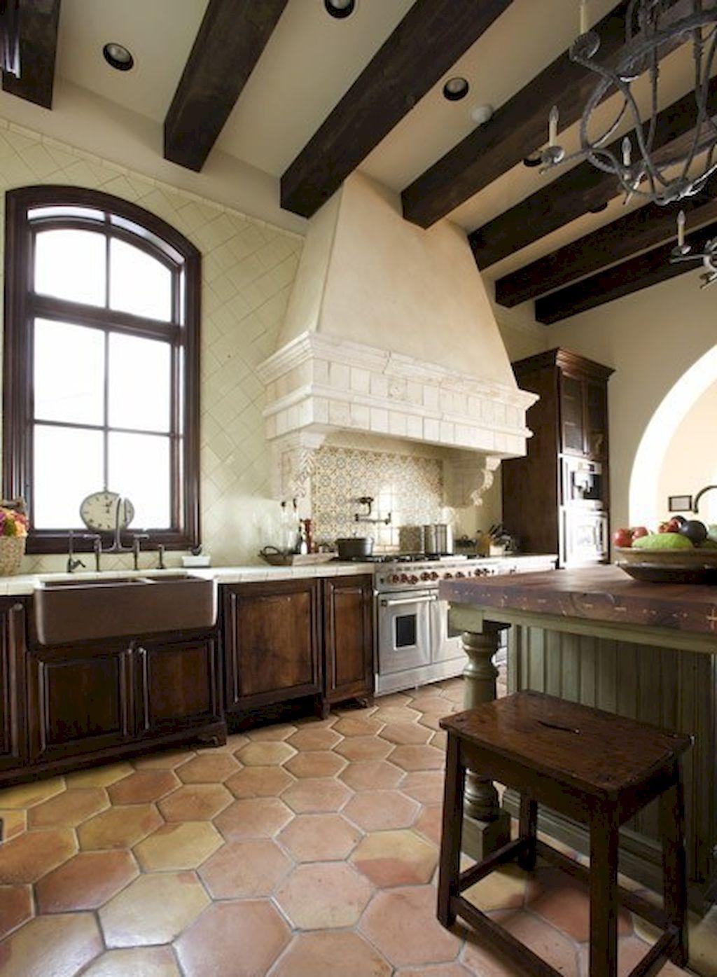 70 Tile Floor Farmhouse Kitchen Decor Ideas