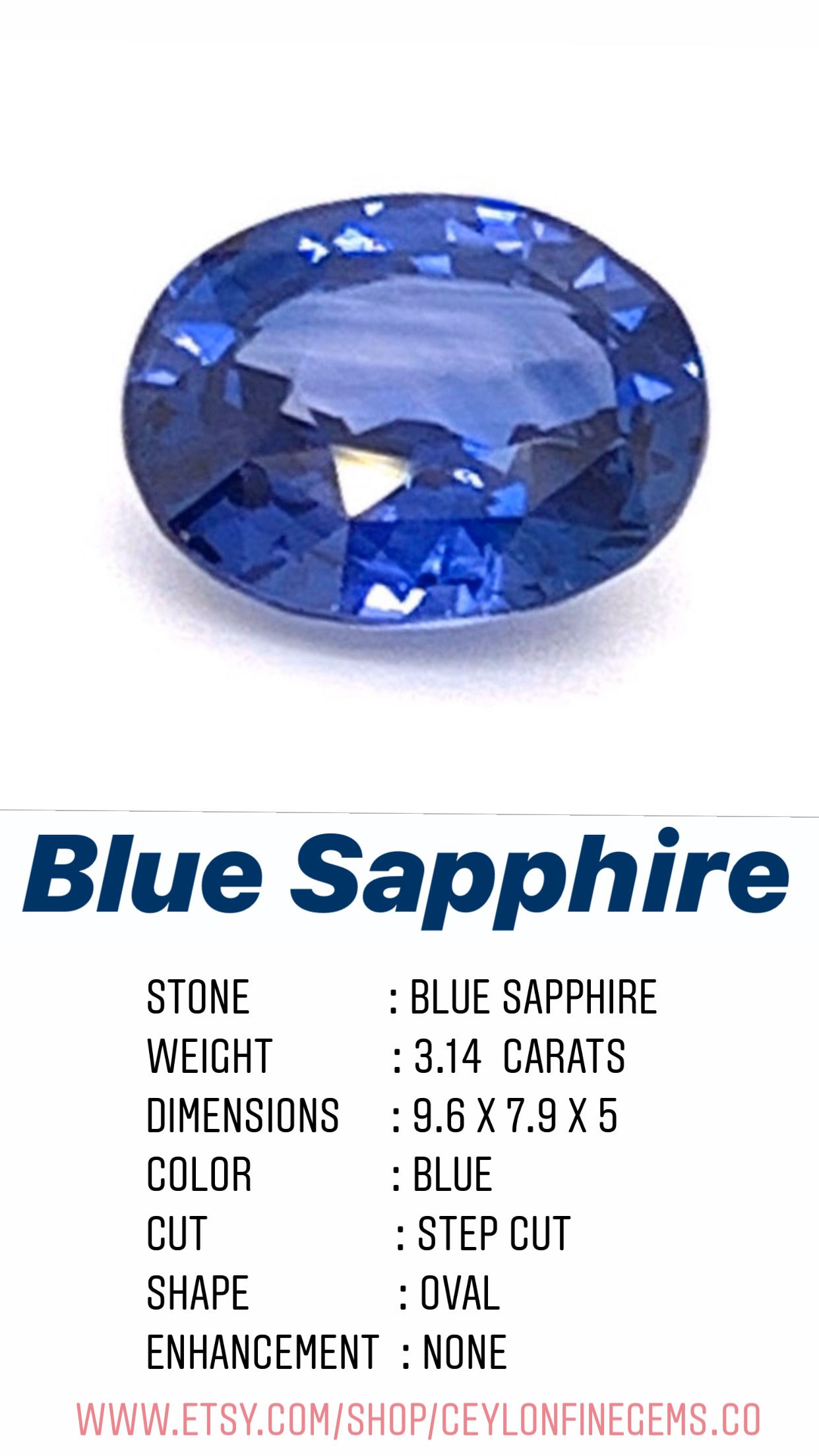 Blue Sapphire Loose 3 14 Carats Blue Blue Sapphire Blue Sapphire Engagement Ring Blue Sapphire For Jewelry Making Gemstone For Gift In 2020 Sapphire Engagement Ring Blue Engagement Rings Sapphire Blue Sapphire