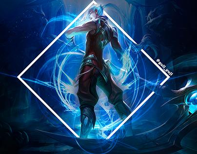 Confira Meu Projeto Do Behance Kayn Wallpaper 4k League Of Legends Https Www Behance Net Gallery 77607419 Kayn Wallpap League Of Legends Legend League