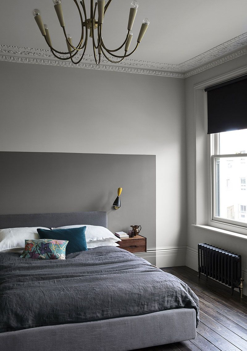 Stylish Interior With The Help Of Paint New Inspirations By Paint Paper Photos Ideas Design Bedroom Door Design Bedroom Interior Bedroom Wall Colors Gray bedroom wall paint