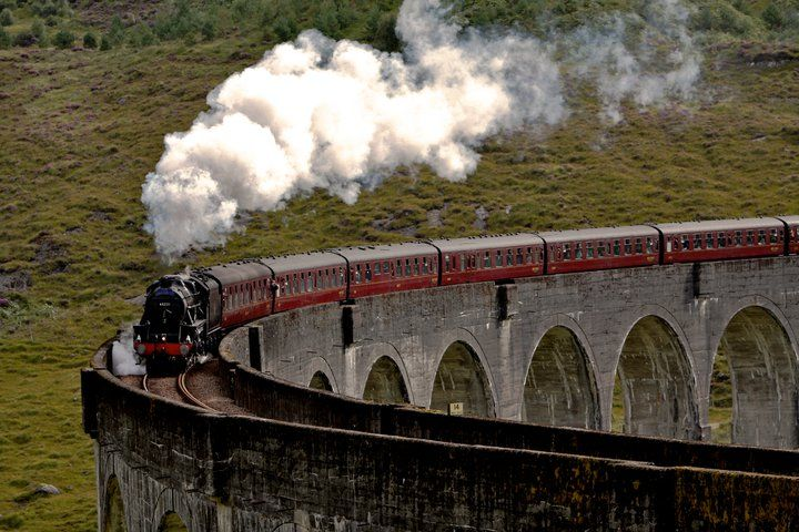 Scotland The Harry Potter Train Trains Engin By Train